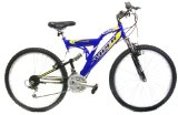 Reflex Viper Blue Gents Dual Suspension Mountain Bike