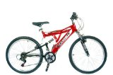 Reflex Viper Dual 24` Wheel Suspension Mountain Bike