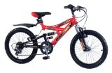 Concept Iguana Dual Susp Boys Mountain Bike 6-8Yrs