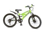 Topeka Boys Dual Susp Mountain Bike With Disc Brake