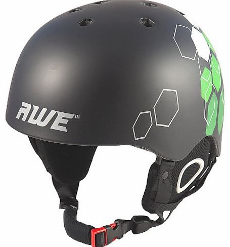DuelTM Ski/Snowboard/BMX/Freeride In-Mould Helmet CE EN 1077 Standards, TUV Tested
