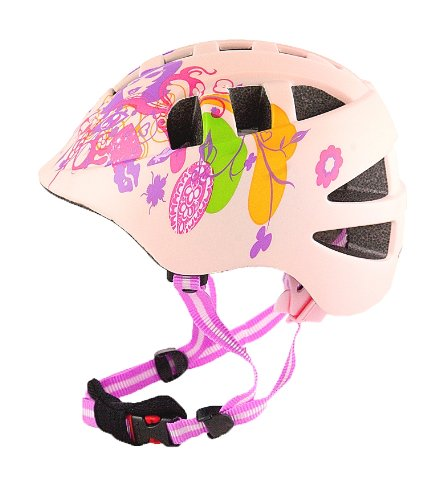 AWE Pink CoolTM 15 Vents Kidz Double In-Mould Cycle Bike Helmet CE EN1078 TUV Approvals