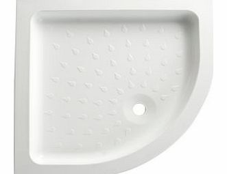 Quadrant Shower Tray (W)800mm (D)800mm VAF