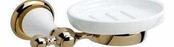 Timeless Gold Effect Soap Dish