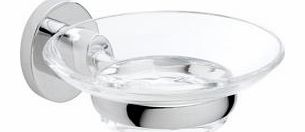 Ultimo Chrome Effect Soap Dish