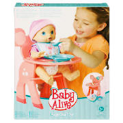 Baby Alive Highchair Set