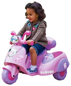 Annabell Battery Operated Scooter & Sidecar