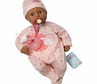 New Baby Annabell Ethnic Doll