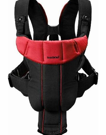 Baby Bjorn Baby Carrier Active Black/Red 2014