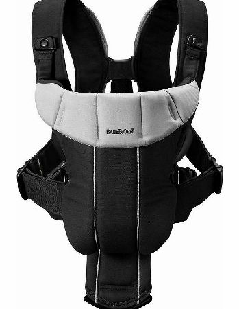 Baby Bjorn Baby Carrier Active Black/Silver 2014