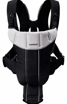 Baby Bjorn BABYBJÖRN Baby Carrier Active (Black/Silver, Cotton Mix)