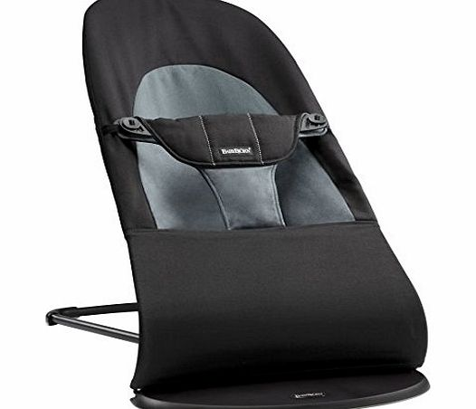 Baby Bjorn BABYBJÖRN Bouncer Balance Soft (Black/Dark grey, Cotton)