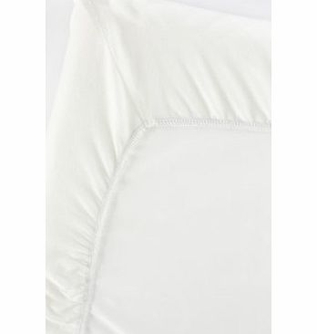 Baby Bjorn BabyBjörn Fitted Sheet for Travel Cot Light (Organic Natural White)