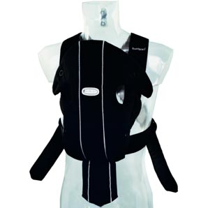 Baby Bjorn Carrier- City Black- Longer Straps