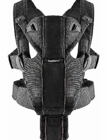 Baby Bjorn Miracle Baby Carrier Black Mesh 2014
