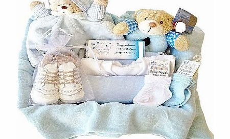 Baby Blessed New Arrivals Hamper: Baby Boy
