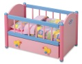 baby born wooden bed