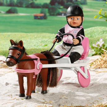 My Mini BABY Born Horse Racing Set