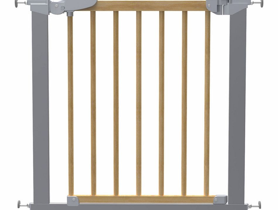 Baby Dan Avantgarde Safety Gate Silver Beech 2014