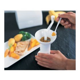 BabyDan Food Mill with Serving Spoon