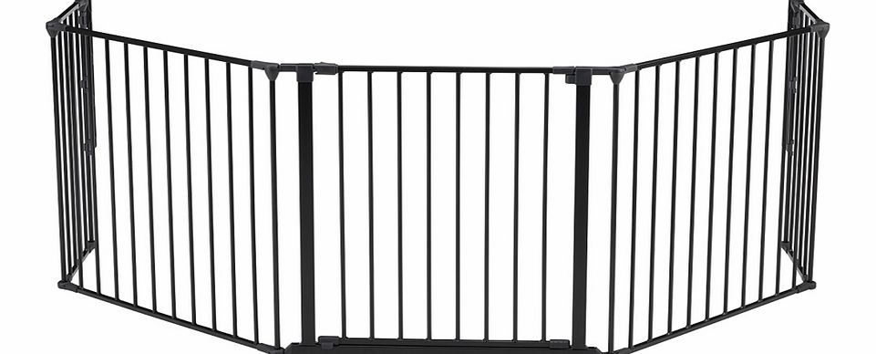 Baby Dan Hearth/ Configure XL Safety Gate Black