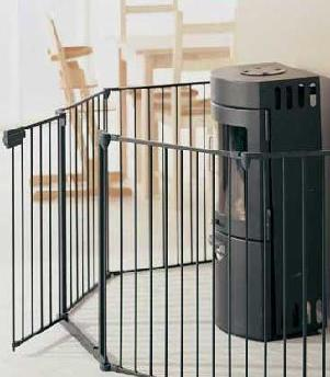 Baby Dan Hearth Gate - Fire Guard