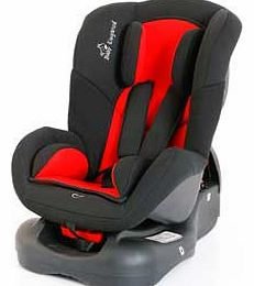 Group 0-1 Car Seat - Red and Black