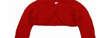 Baby Girls Red Bolero Cardigan L2/A14 to A17