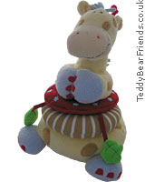 Woodles Gazoo Giraffe Stacking Toy