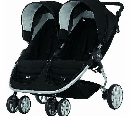 Britax B Agile Double Pushchair Neon Black 2014