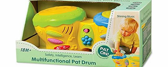 Baby Learning Electronics Multi-Functional Pat Drum
