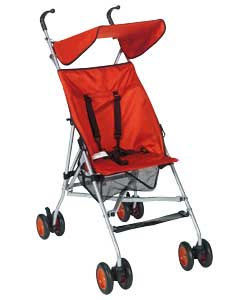 Stroller with Canopy- Red