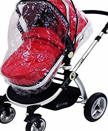 Baby Travel Universal Raincover Mamas And Papas Sola Pushchair Ventilated