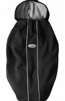 Cape for baby carrier - black `One size
