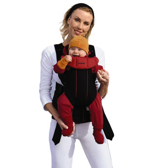 Baby Carrier Active - Red/Black