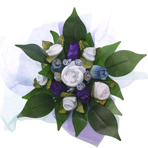 BabyBlooms Bouquet- Blue- Small