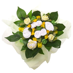 BabyBlooms Bouquet- Large- Yellow