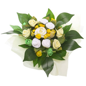 BabyBlooms Bouquet- Medium- Yellow