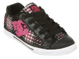 DCs Chelsea Bk/pnk/bk Plaid - 4 Uk