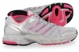 New Adidas Allegra Running Trainers - Silver / Pink - SIZE UK 5.5