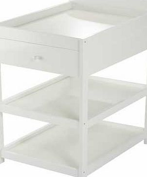 BabyDan Alfred Baby Changing Unit - White