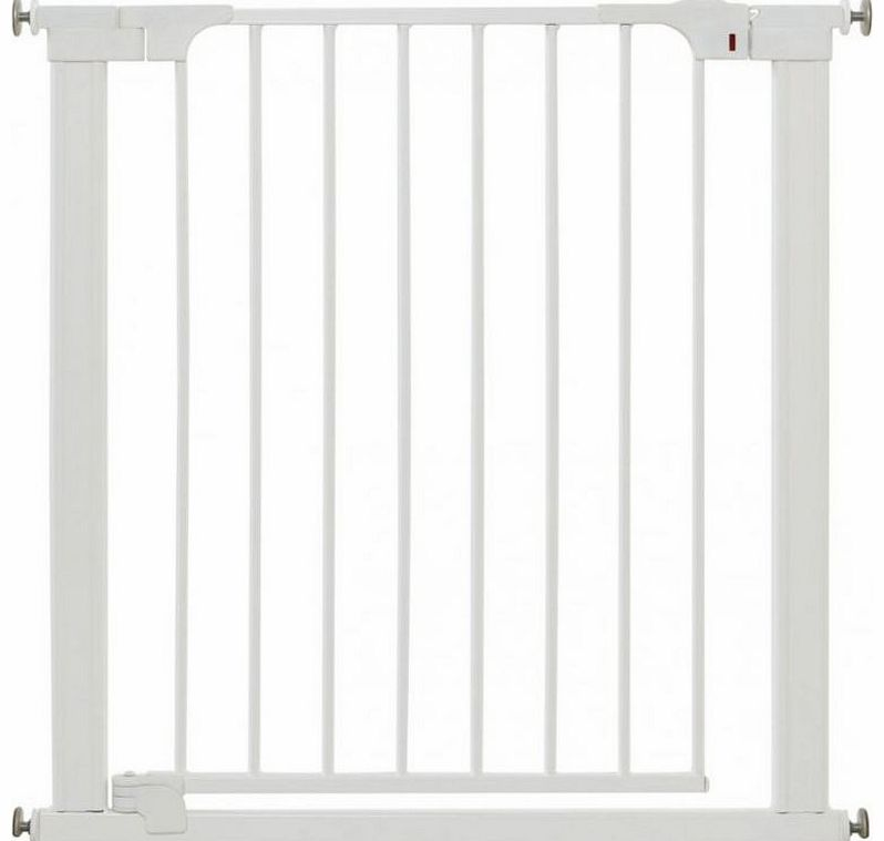 Baby Dan Premier Pressure Safety Gate White 2014