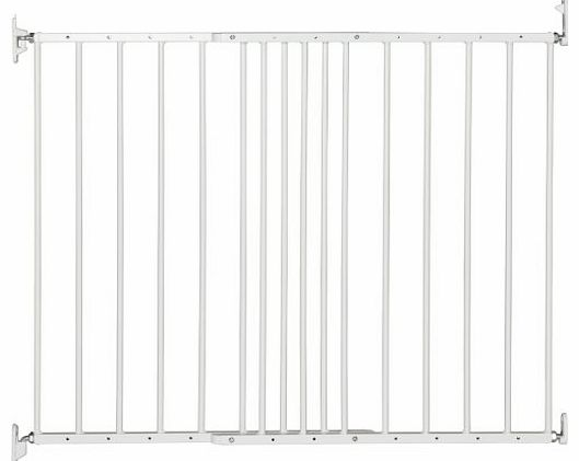 Multidan Extending Metal Safety Gate (White)