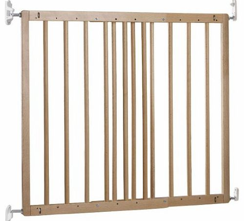 Multidan Extending Wooden Safety Gate (Beech, New Version)