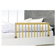Wooden Bed Rail, Natural