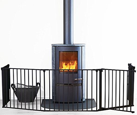 XL Hearth Gate / Configure Gate - Black
