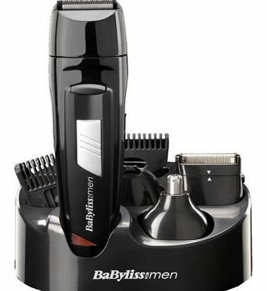 HIGH QUALITY BABYLISS 8 IN 1 RECHARGEABLE ALL OVER GROOMING KIT HAIR TRIMMER CLIPPER