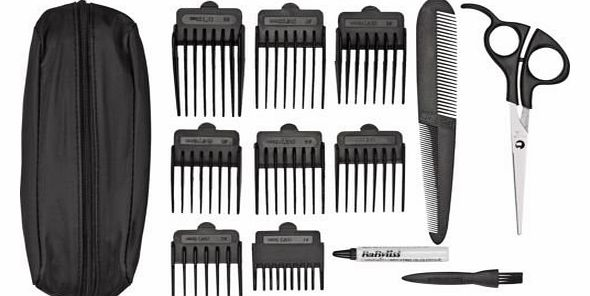 BaByliss High Quality Babyliss For Men 7498CU 15 Piece Powerlight Pro Clippers.