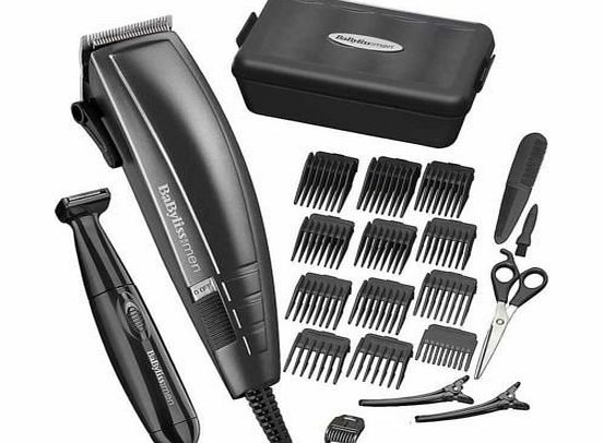 BaByliss HIGH QUALITY BABYLISS MENS MAINS OPERATED HIGH PERFORMANCE HAIR CLIPPER TRIMMER