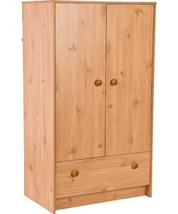 Avalon Nursery Wardrobe - Pine